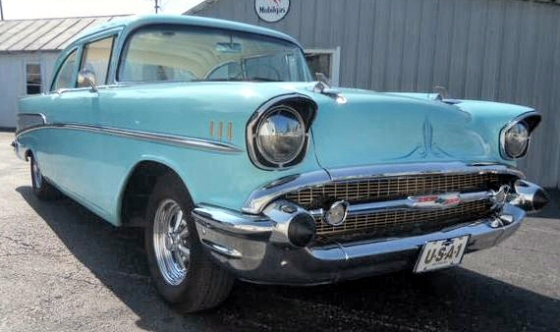 Photo of  1957 Chevy Belair 210 2DR  Old School Custom