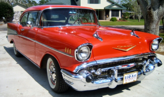 Photo of 1957 Chevy Bel Air 2DR Hardtop Numbers Matching