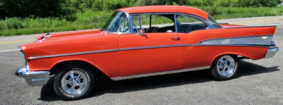 Photo of  1957 Chevy Belair 2DR Hardtop With 4 Speed