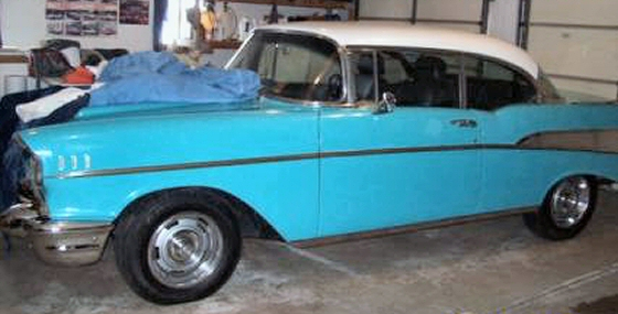 Photo of 1957 Chevy Bel Air 2 Door Hardtop Street Rod With 4 Speed