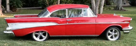 Photo of 1957 Chevrolet Bel Air 2DR HT With 383 Stroker V8