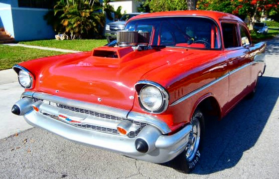 Photo of 1957 Chevy Belair 2Dr Drag Race Pro Street