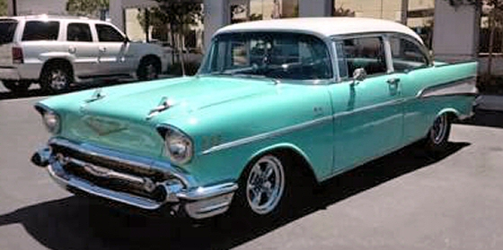 Photo of 1957 Chevy Bel Air Post Coupe With 454 Crate Motor