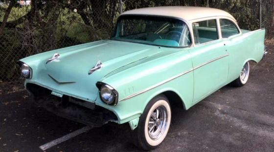 Photo of 1957 Chevy Belair 2DR Post Project