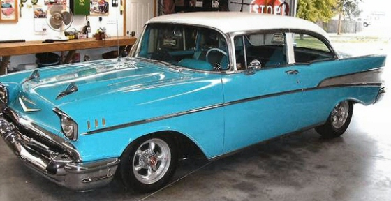 Photo of 1957 Chevrolet Bel Air 2 Door Sedan Hot Rod