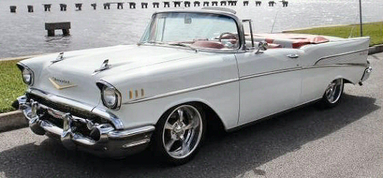 Photo of  1957 CHEVROLET BELAIR CONVERTIBLE RESTORED
