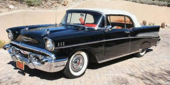 Photo of 1957 Chevy Belair Convertible Classic Cruiser