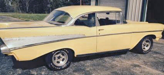 Photo of 1957 CHEVY BELAIR SPORTS COUPE With 4 SPEED