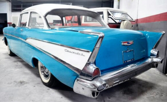 Photo of 1957 Chevrolet Bel Air Sport Sedan
