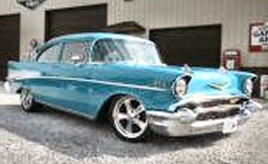 Photo of 1957 CHEVY BELAIR 2DR STREET ROD