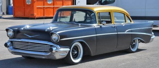 1957 chevrolet custom 210 4 door sedan for 1957 chevy 210 4 door