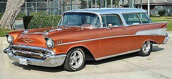 Photo of 1957 Chevrolet Bel Air Nomad Station Wagon Restored
