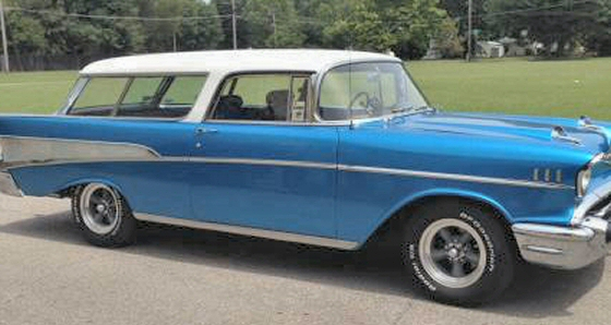 Photo of 1957 Chevrolet Nomad Street Rod  Completely Restored