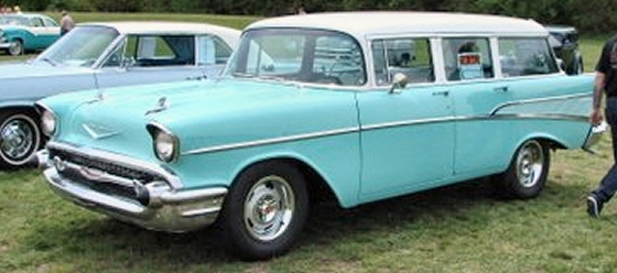 Photo of 1957 Chevy Wagon Street Rod