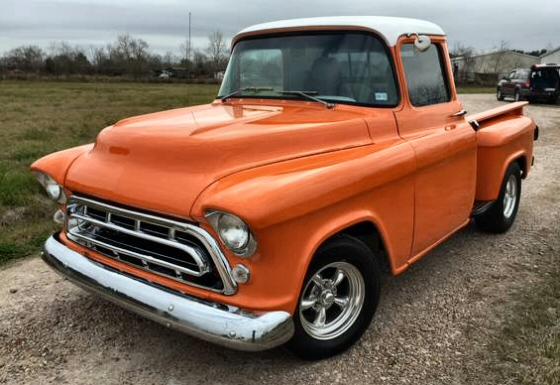 Photo of 1957 Chevy Stepside Pickup Truck Street Rod