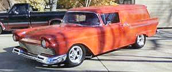 Photo of 1957 FORD COURIER PANEL DELIVERY STREET ROD