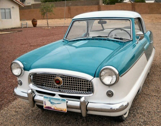 Photo of 1957 Nash Metropolitan All Steel Coupe  Restored To Original