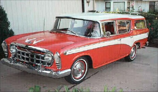 1957 Nash Rambler Cross Country Custom