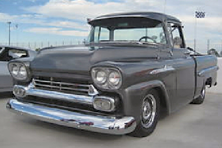 1958 Chevy Apache 3100 swb truck restomod fleetside for sale ...