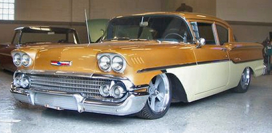 1958 Chevy 2DR Street Rod