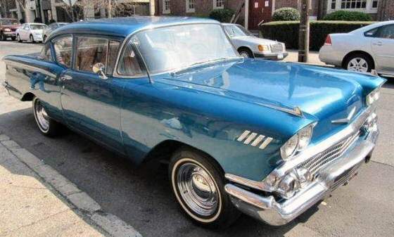 Photo of 1958 Chevy Del Ray 2 Door Post Coupe