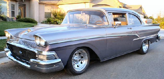 1958 Ford Custom 300 Series model 70-A.