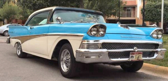Photo of 1958 Ford Fairlane 500 Coupe Fully Restored
