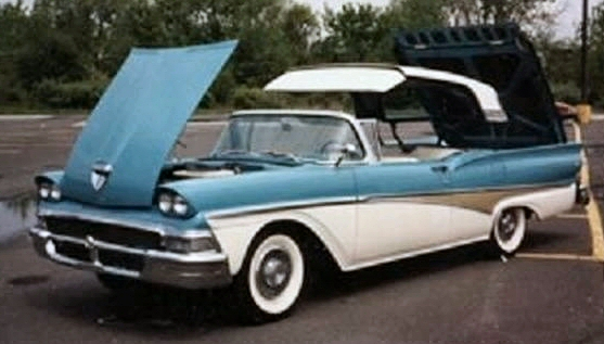 Photo of 1958 Ford Skyliner Hard Top Convertible