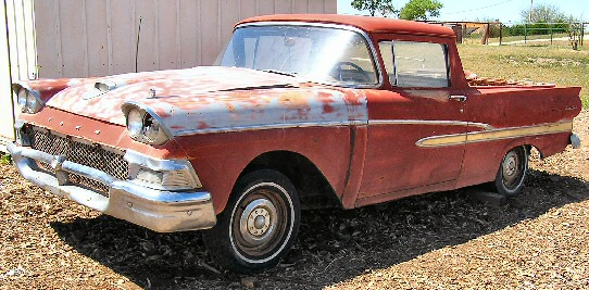 1958 ford ranchero - 1958 Ford Ranchero For Sale