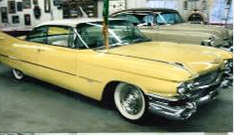 Photo of 1959 Cadillac DeVille 2 Door Hardtop With 44,092 Original Miles