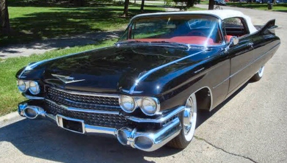 Photo of  1959 Cadillac Deville Series 62 Convertible