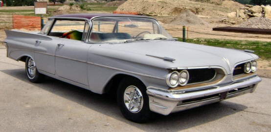 1959 Pontiac Catalina Vista Flat Top
