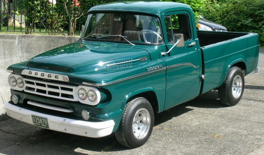 1959 Dodge D100 Sweptline Power Giant Pickup For Sale