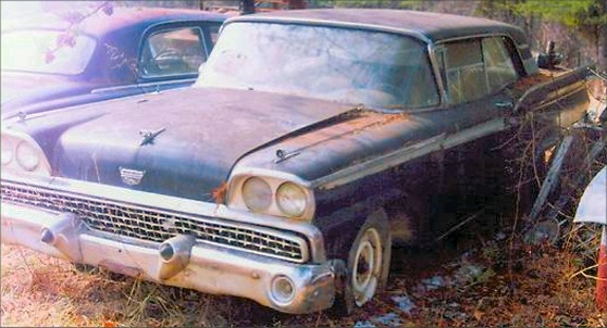 1959 Ford Galaxie 2 Door