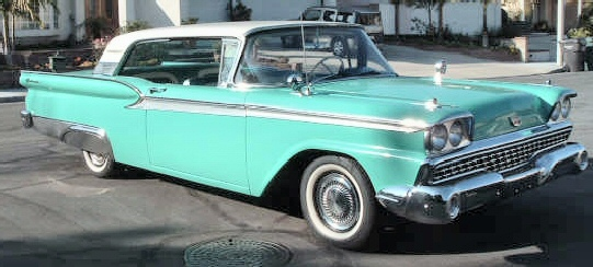 1959 Ford Galaxie 500 two door hardtop