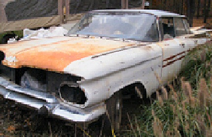 1959 Classic Chevy Impala 4-door Hardtop project