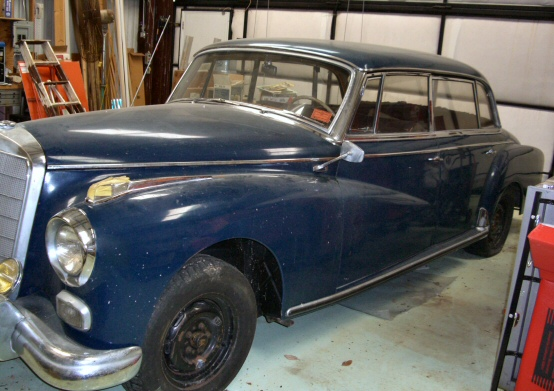 1959 Mercedes Benz 300D 4 door Hardtop Model W189