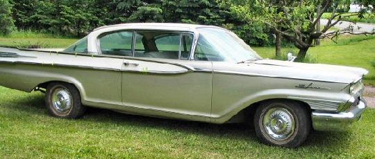 1959 Mercury Park Lane - 2DR Hardtop.