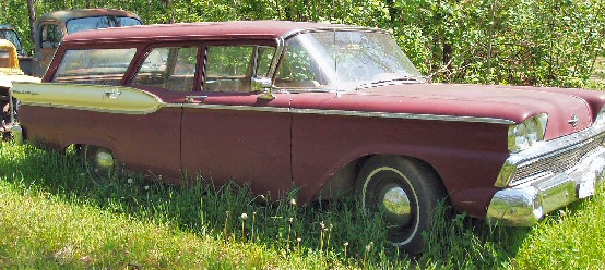 1959 Canadian Meteor Ranch Wagon