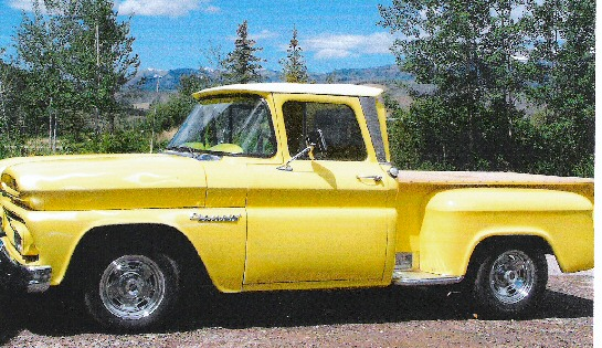 1960 Chevy Apache Pickup Stepside Short Bed