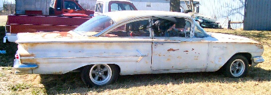 1960 Chevy Bel Air 2DR