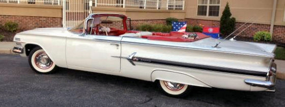Photo of 1960 Chevy Impala Convertible Restored