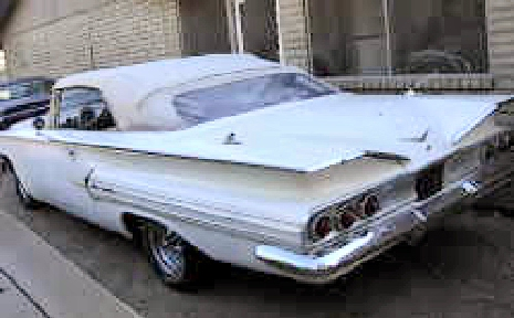 1960 Chevy Impala Convertible Project