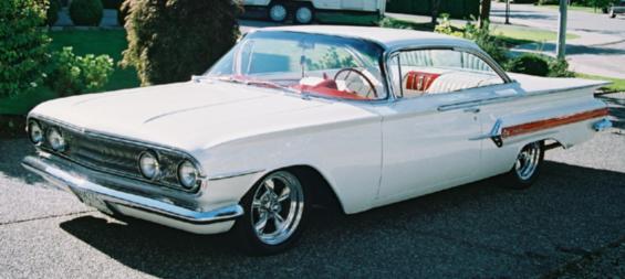 1960 Chevrolet Impala 2dr Ht
