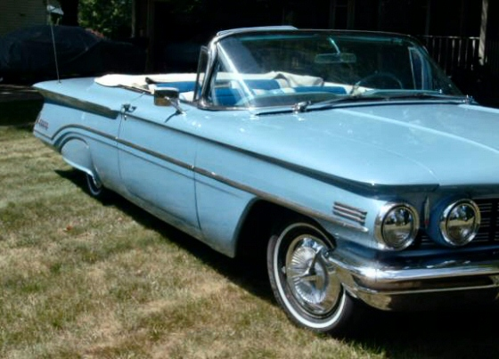 1960 Oldsmobile Super 88 Convertible With 19,000 Miles