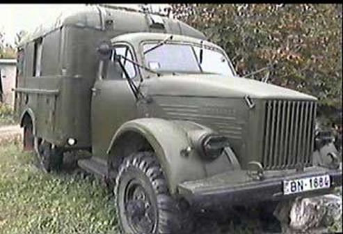 1960 Russian Army Truck