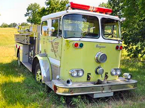 Photo of 1960 Seagrave Pumper Fire Truck