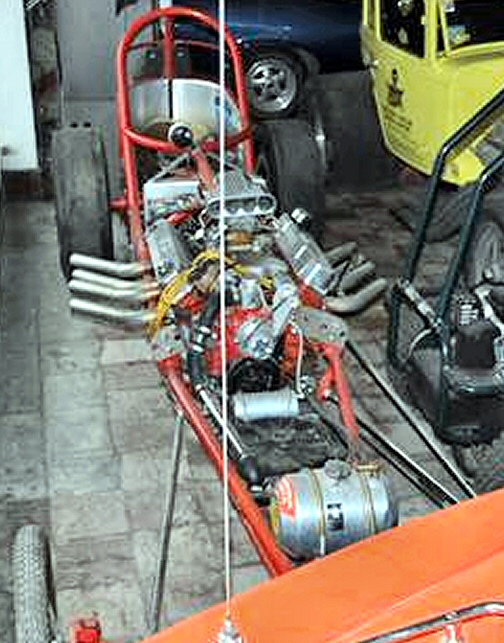 Photo of 1960's Front engine Vintage Dragster