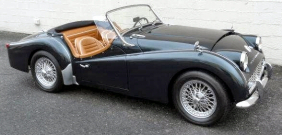 Photo of 1960 Triumph TR3 Roadster Restored