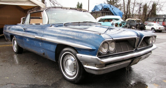 1961 Pontiac Bonneville Convertible Project